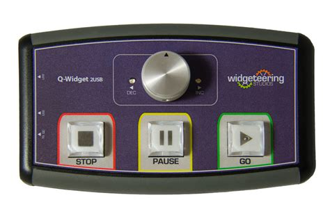 q widget dual remote for qlab ableton scs sfx midi applications