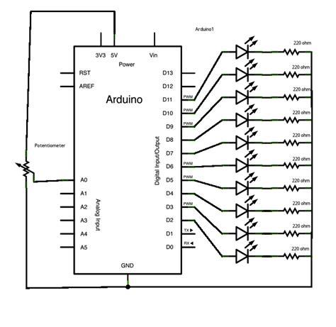 led bar graph resistors led bar graph