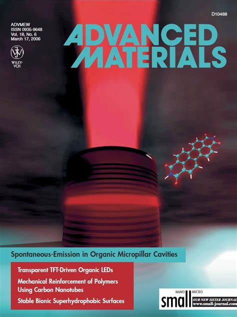 Adv Mat Res by Epmm Research Organic Microcavities And Photonics