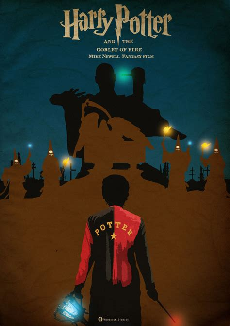 Plakat Harry Potter by Harry Potter And The Goblet Of Poster By Mjd360 On