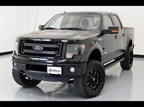2013 ford f 150 fx4 with custom lift, lewisvilleautoplex