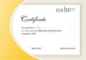 design certificate template certificate design for mdu from yourdesignpick