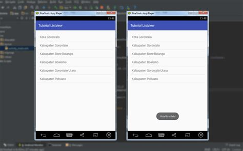 tutorial membuat android studio tutorial membuat listview dengan android studio