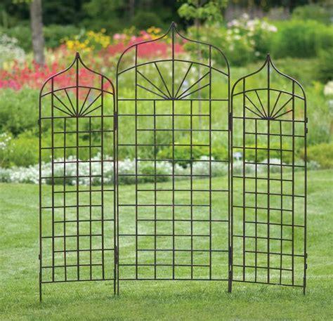 metal trellis plans outdoor decorations   build