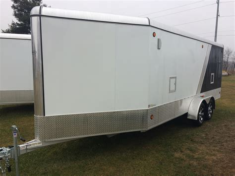 Aluminum Snowmobile Trailer Powersport Deluxe Series