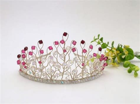 Handmade Tiaras - tiaras handmade and bridal tiara on