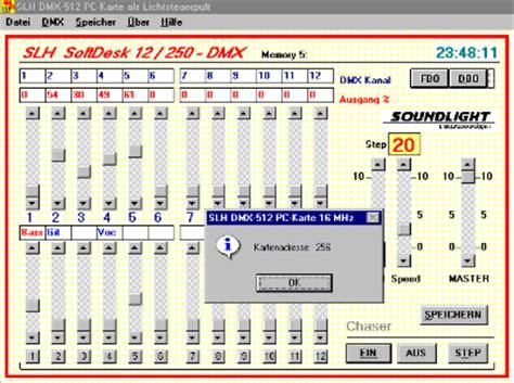 Computer L Table Controller Dmx 512 Manual by Soundlight Lichtsteueranlagen The Dmx Company