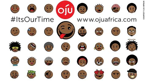 black emojis for android the company that trumped apple to launch black emoticons cnn