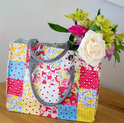 Three More Inspiring Patchwork Projects Sewcanshe Free - 59 best sewing purses and totes images on