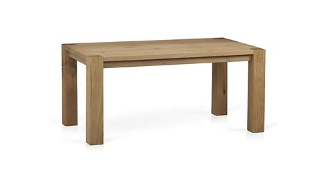 big sur dining table big sur 65 quot dining table crate and barrel