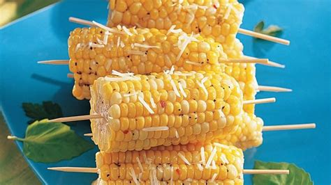 corn on a stick savory corn on a stick recipe from betty crocker
