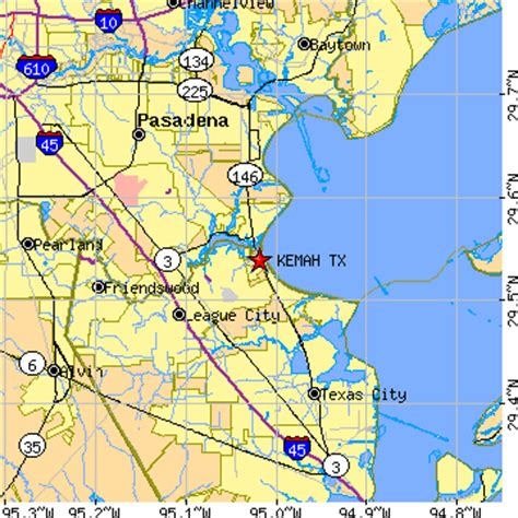 kemah texas map kemah texas tx population data races housing economy