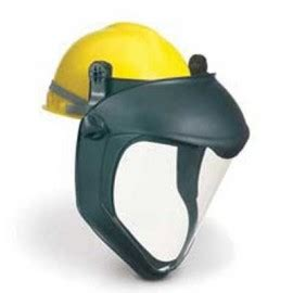 hard hat face shields | hard hat adapter | enviro safety
