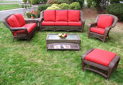 antique wicker sofa with springs wicker antique brown palm springs sofa and loveseat
