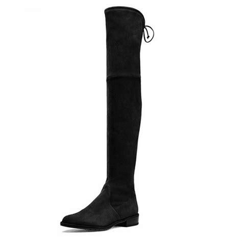 get cheap suede thigh boots aliexpress