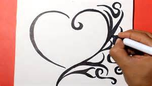 como aser corazones bonitos how to draw a heart como dibujar un corazon youtube