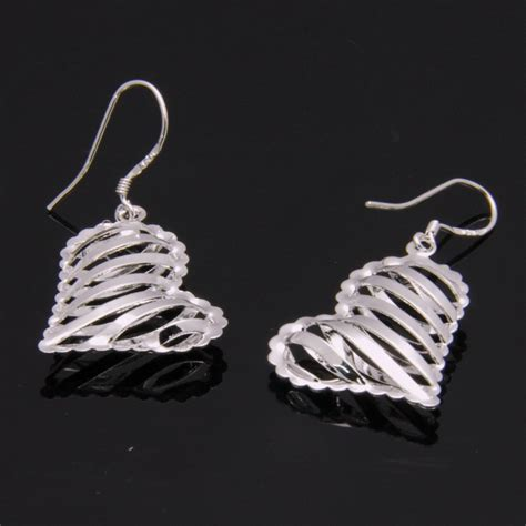 925 sterling silver plate allergy free dangle