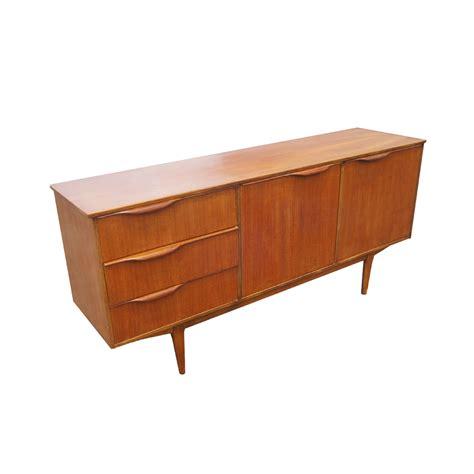 "66"" Vintage Mid Century Modern Teak Sideboard Credenza   eBay"