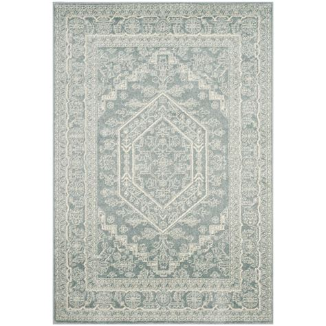 adirondack rug safavieh adirondack ivory silver 4 ft x 6 ft area rug adr117b 4 the home depot