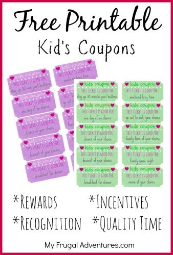 printable tickets and coupons free printables online free printable reward tickets for kids free homeschool