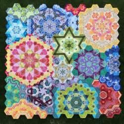 the new hexagon millefiore quilt along
