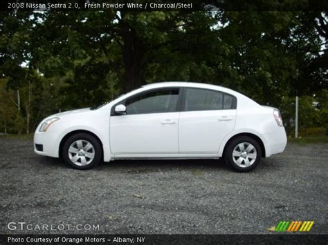 nissan 2008 white fresh powder white 2008 nissan sentra 2 0 charcoal