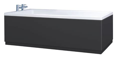 l shaped black high gloss premium high gloss black bath panels with plinths