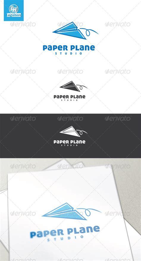 Companies That Make Paper - paper plane logo template graphicriver