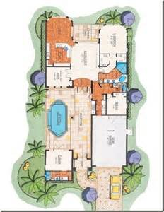 House Plans With Courtyard Pools by Courtyard Floor Plan Bonita Springs