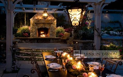 Outdoor Lighting Los Angeles Outdoor Dining Table Lighting Traditional Landscape Los Angeles By Lenkin Design Inc