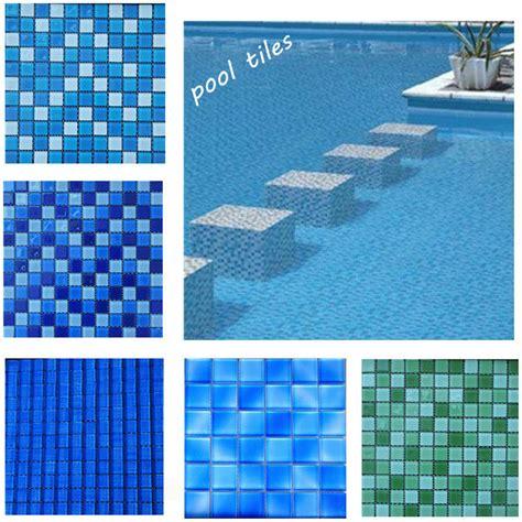 Bathroom Tile Sheets - 50x50 swimming pool mosaics glass mosaic swimming pool tile blue mosaic bathroom floor tile