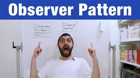 observer design pattern youtube observer pattern design patterns ep 2 youtube