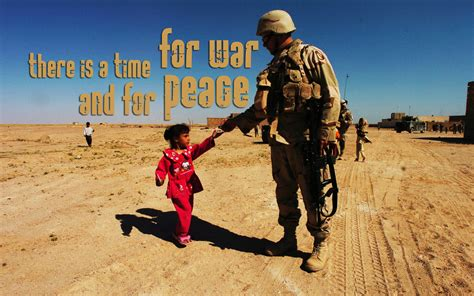 A Time For War war peace christian wallpapers