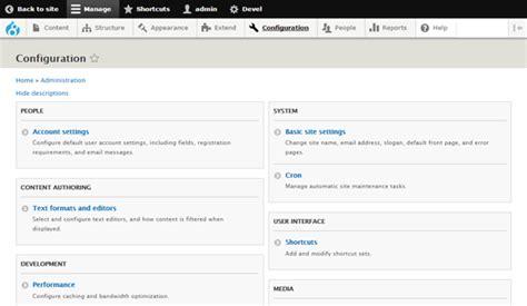 drupal admin template drupal use admin block and admin block content templates