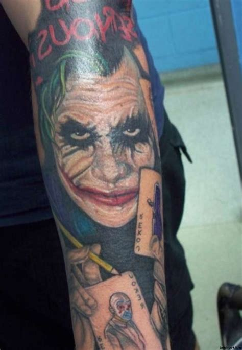 joker tattoo sleeve designs joker tattoos designs ideas and meaning tattoos for you