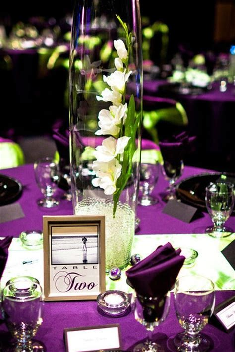 17 Best ideas about Green Wedding Centerpieces on
