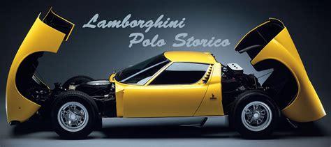 Lamborghini Polo Auto World Marketing Lamborghini S Restoration Center Is