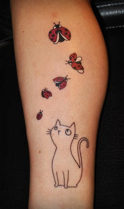 cute cat tattoos 11 cat tattoos all cat will project 4