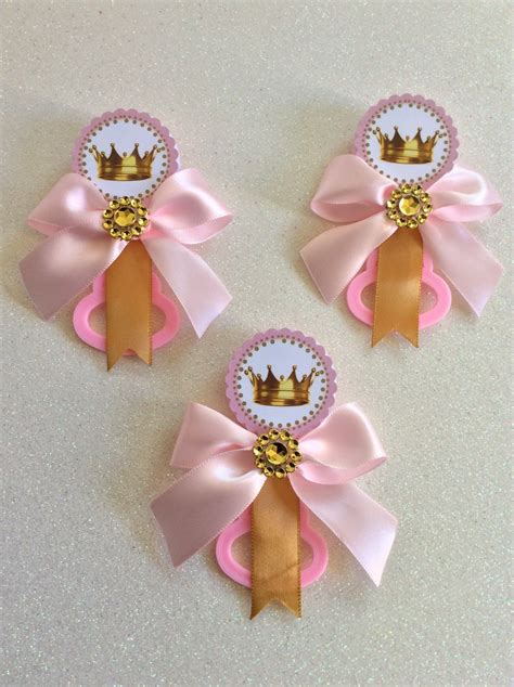 Baby Shower Pins by 12 Pink Princess Baby Shower Pins Princess