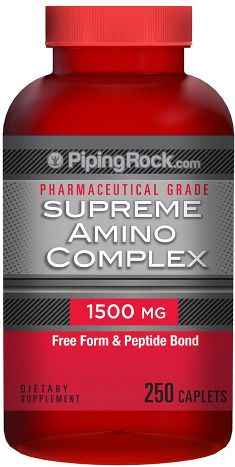 g rock supplement supreme amino 1500 mg amino acids for building and