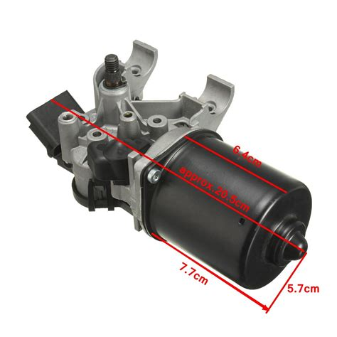 cost of wiper motor 12v black front wiper windscreen motor for vauxhall corsa