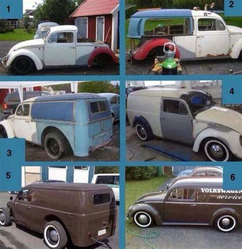 volkswagen wagon vintage how to make a vw bug panel wagon volksrods more