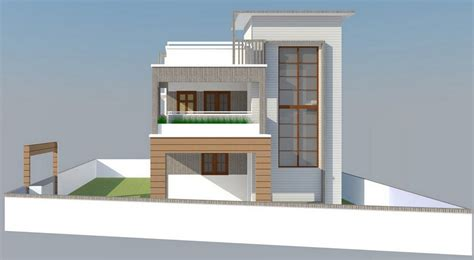 home plan designers house front elevation design for double floor theydesign