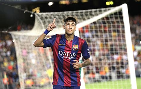 wallpaper neymar barcelona 2015 1 neymar profile view in barcelona 2014 2015 team practice