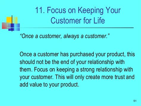 Your Customers Treat Them Well Build Strong Relationships by Seven Qualities Of Top Sales
