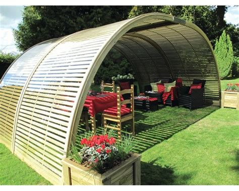 Small Space Big Style secret garden collection shelters curve jacksons fencing