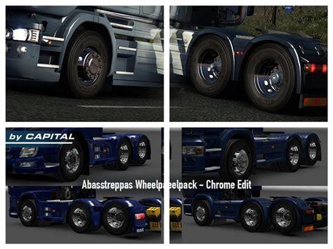 Wheel Pack abasstreppas wheel pack chrome edit v1 3 ets2 mods