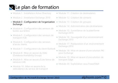 exemple plan de formation 2010