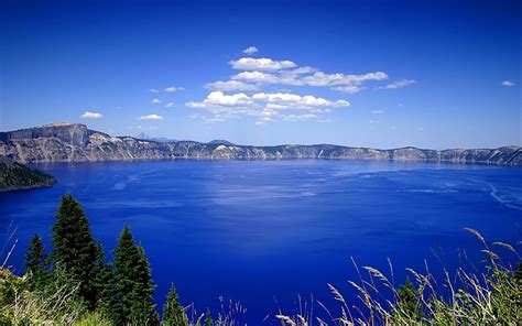 wallpaper alam biru danau biru wallpaper pemandangan alam alam wallpaper