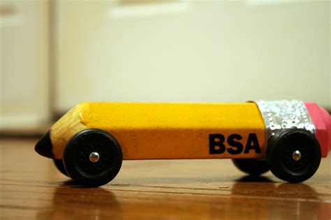 day  pinewood derby baby  pencil   show